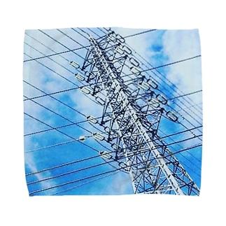 送電線 Towel handkerchiefs