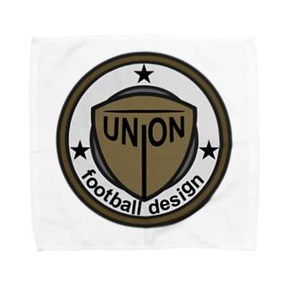union football design Towel handkerchiefs