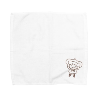 もこもこてるりん Towel handkerchiefs