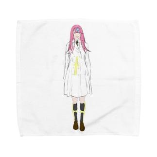 研究員 Towel handkerchiefs
