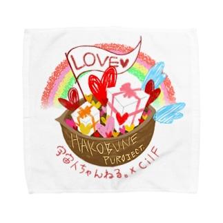 【HAKOBUNE】Blea・プレゼント Towel handkerchiefs