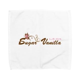 シュガーバニラロゴグッズ Towel handkerchiefs