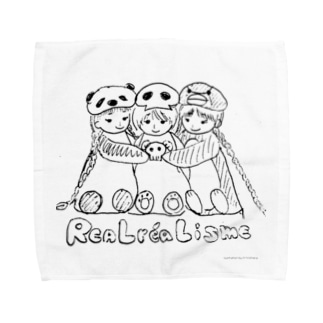 リアルレアリズム宣言 Towel handkerchiefs