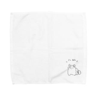 臆病なぽめらにあんべる Towel handkerchiefs