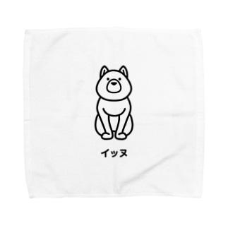 イッヌ Towel handkerchiefs