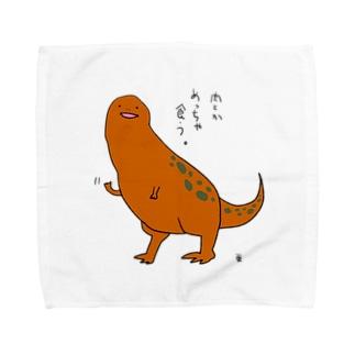 恐竜くん タオルハンカチ