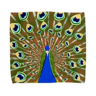 インドの国鳥 Towel handkerchiefs