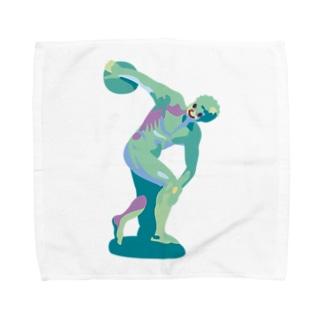 ミュロンの円盤投げ Towel Handkerchief