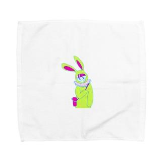 エンソク・ウサギ Towel handkerchiefs