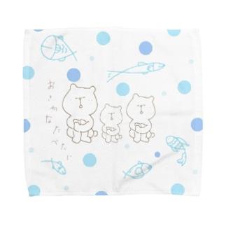 夢で見ていたのはお魚 Towel handkerchiefs
