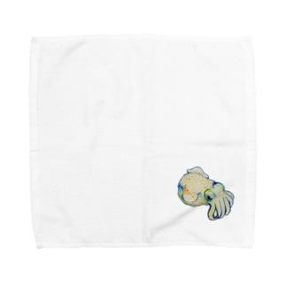 Dango-ika【fishing style】 Towel handkerchiefs