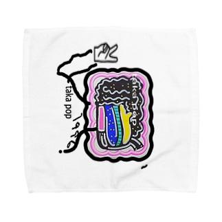 #takapop towel Towel handkerchiefs