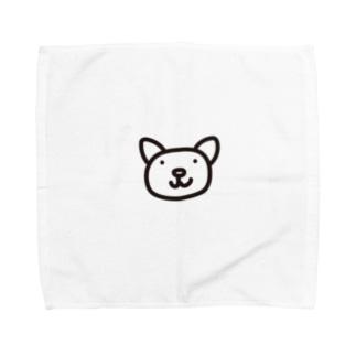 ねこ。CAT。アニマルシリーズ Towel handkerchiefs