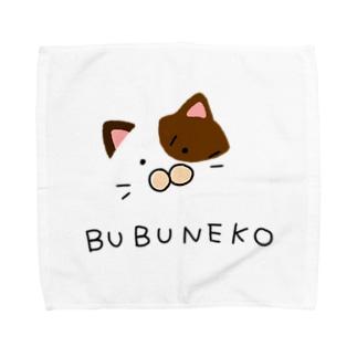 ぶぶ猫 Towel handkerchiefs