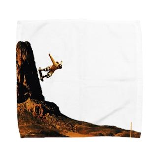 降下 Towel handkerchiefs