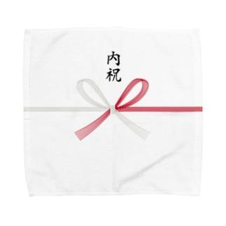 内祝い用デザイン Towel handkerchiefs