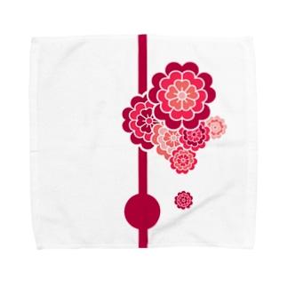 ここのえざくら Towel handkerchiefs