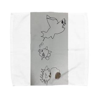 うみのそこ Towel handkerchiefs