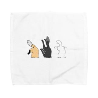 ささるキツネ2 Towel handkerchiefs