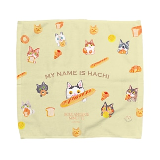 MYNAMEISHACHI Towel handkerchiefs