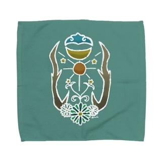 瑞雲日月星 Towel handkerchiefs