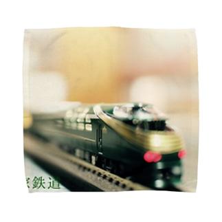 三軒家鉄道 Towel handkerchiefs
