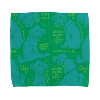 Golden Doodle is the Perfect Dog Towel handkerchiefs