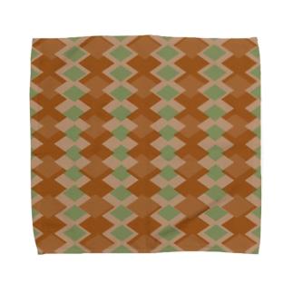 算盤~抹茶~ Towel handkerchiefs
