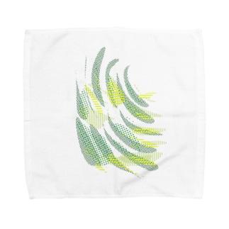 カラフル スタック 2 Towel handkerchiefs