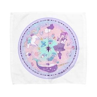 星座 Towel handkerchiefs