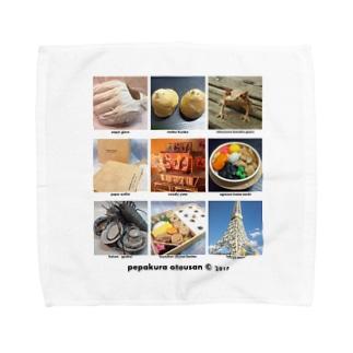 ©pepakura otousan Towel handkerchiefs