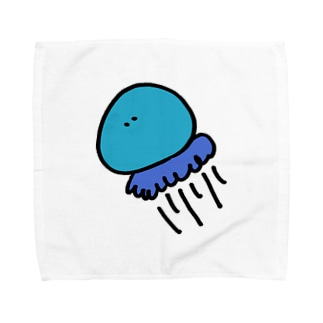 じぇりーふぃっしゅ。 Towel handkerchiefs