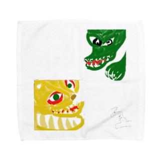 龍虎 Towel handkerchiefs