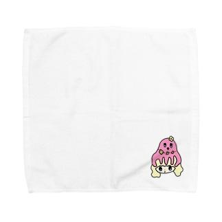 たこあたまちゃん Towel handkerchiefs