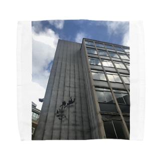 バンクシー ストリートアート Towel handkerchiefs