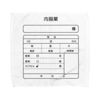 内服薬 Towel handkerchiefs