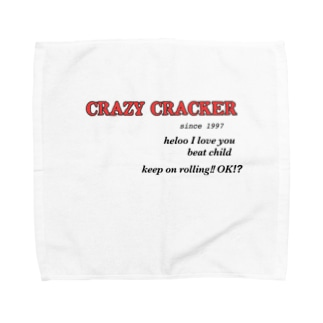CRAZY CRACKER Towel handkerchiefs