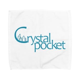 クリスタルポケットロゴオリジナル Towel handkerchiefs