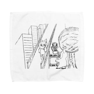ドラえちゃん Towel handkerchiefs
