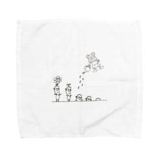 いわさわくん Towel handkerchiefs