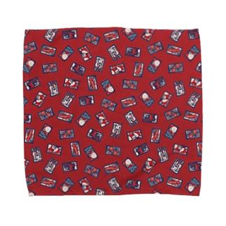 【日本レトロ#30】花札 Towel handkerchiefs