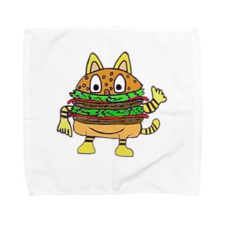 バーガー・ムツゴロウさん Towel handkerchiefs