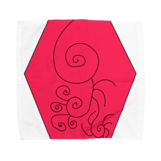 JUSEN SETA 【瀬田純仙】COOL JAPAN  冬の昼寝 Towel handkerchiefs