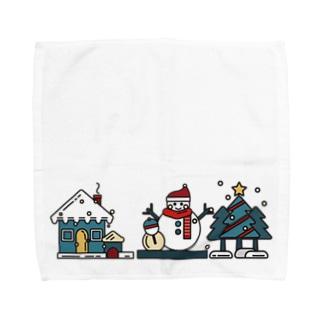 冬の風物詩 Towel handkerchiefs