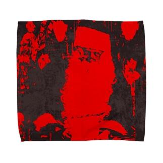 ブラックサンタクロース Towel handkerchiefs