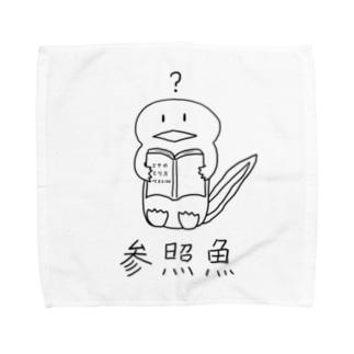 参照魚 Towel handkerchiefs