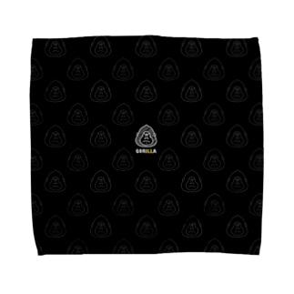 ゴリラさん Towel handkerchiefs