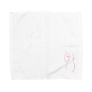 satoサン Towel handkerchiefs