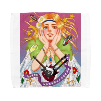 70年洋楽ロック Towel handkerchiefs
