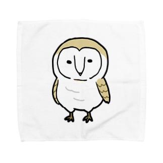 めんふくろうくん Towel handkerchiefs